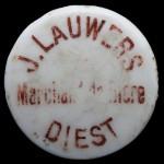 DIEST marchand de bière J. LAUWERS