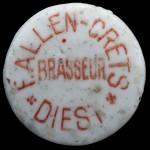 DIEST brasseur F.ALLEN-CRETS