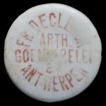 ANTWERPEN FR DECLERCK arth. goemaerelei 8