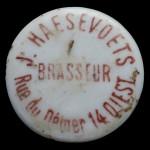 DIEST J.HAESEVOETS brasseur rue de Dèmer 14