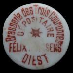 DIEST Félix ???SSENS brasserie des trois couronnes dépositaire