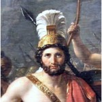 Jacques-Louis David, Leonidas in Thermopylae, 1814