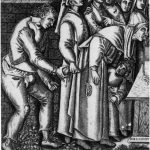 Balthasar van den Bosch, De goochelaar, ca 1550