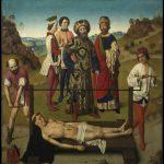 De marteling van de heilige Erasmus, Dirk Bouts, 1464