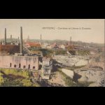 Cementgroeve in Antoing rond 1900
