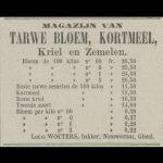 Uit: Nieuwsblad van Geel, 28 december 1889