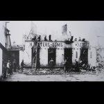 de brand in meunerie H. Peeters-Ooms in 1894 (foto Stedelijk archief Diest)