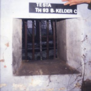 Keldergat in de zuidelijke muur, binnenzijde
