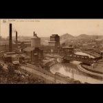 Eerste fabriek van Solvay in Couillet