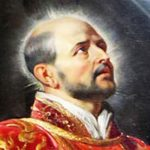Peter Paul Rubens,   detail, de heilige Ignatius of Loyola, 1620-1622)