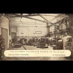 Werkplaats, Le Confiturerie, postkaart, eerste kwart 20ste eeuw