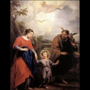 De Heilige Familie, Jacob de Wit, 1726