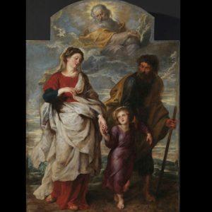 Terugkeer van de H.Familie, Peter Paul Rubens, rond 1620