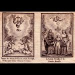 Trinitas en de Heilige Familie op één doekje