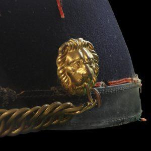 sjako in het museum Slag der Zilveren Helmen, Halen