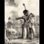 litho uit 1825 van de Parijse kunstenaar Charlet Nicolas-Toussaint (1792-1845)