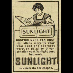 Uit: De Weergalm, 21 oktober 1909