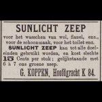 Uit: Nieuws en advertentiebode voor Den Helder, 8 juni 1889