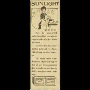 Uit: De Weergalm, 1 augustus 1913
