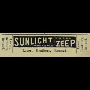 Uit: De Weergalm, 9 november 1889
