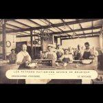 Werkplaats, Le Moulage, postkaart, eerste kwart 20ste eeuw
