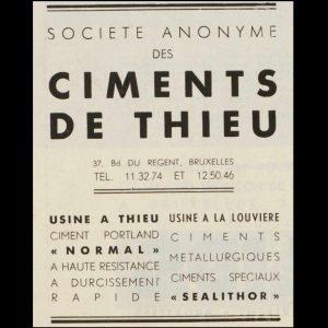 reclame,  uit tijdschrift  'Batir', december 1939