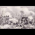 Duitse prentkaart, Slag bij Sint-Magriete-Houtem op 18 augustus 1914