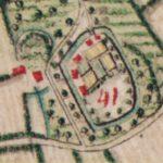 Detail uit de Kaart van Ferraris