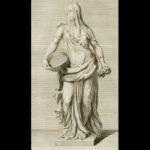 Tuccia, gravure uit 1733